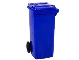 120 lt Çöp Konteynırı Mavi