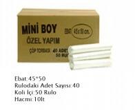 BNS Mini Boy Çöp Torbası 40×50